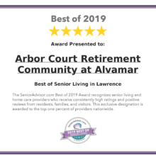 2019 Best of Senior Living Award